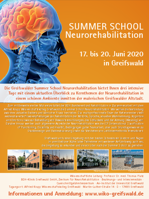 Summer School Neurorehabilitation 2020
